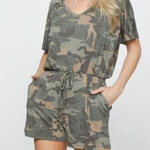 Camouflage Romper